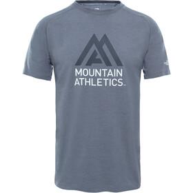 The North Face Wicker Graphic Crew Shirt Herr mid grey heather/asphalt grey